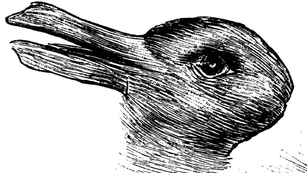 Le canard ou le lapin, un perception bistable