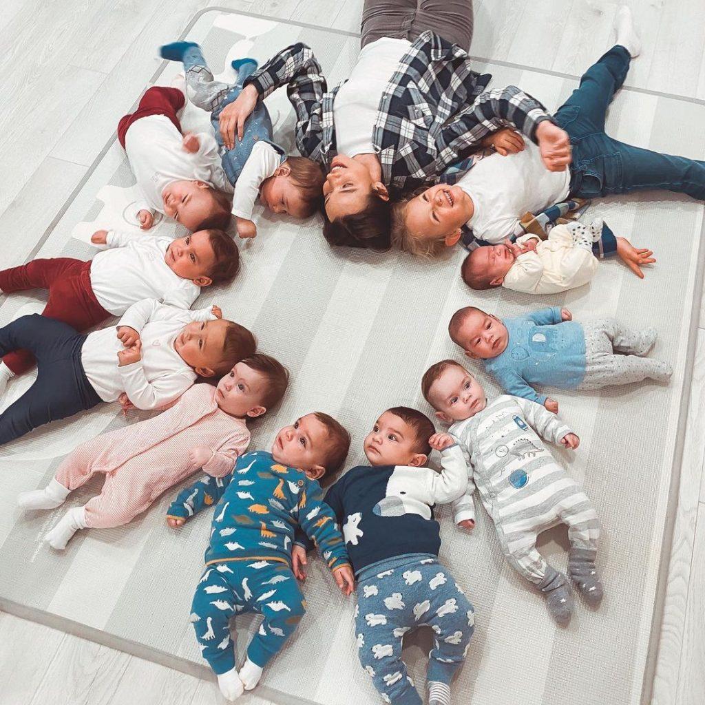 Les bébés de Christina et Galip Ozturk