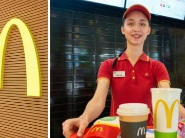 Une employée McDonald's