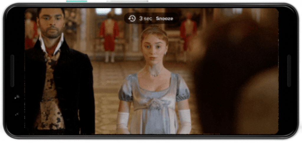 La fonctionnalité Netflix avec la minuterie