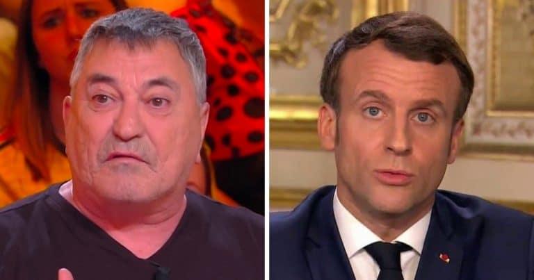 Jean-Marie Bigard et Emmanuel Macron