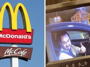 Les commands au drive du McDonalds