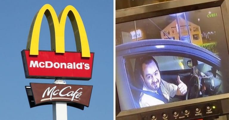Les commands au drive du McDonalds