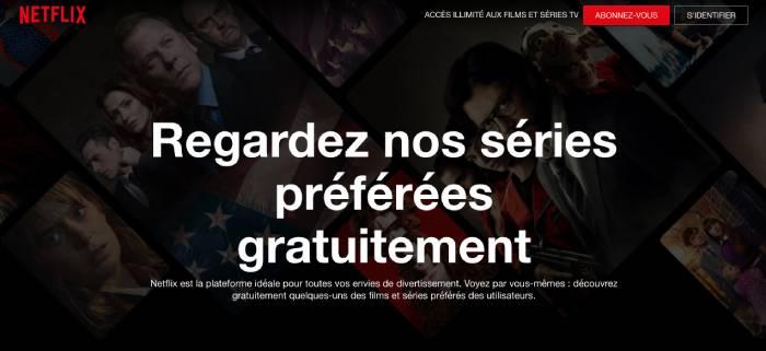 Regarder Netflix gratuitement avec la solution Watch free de Netflix