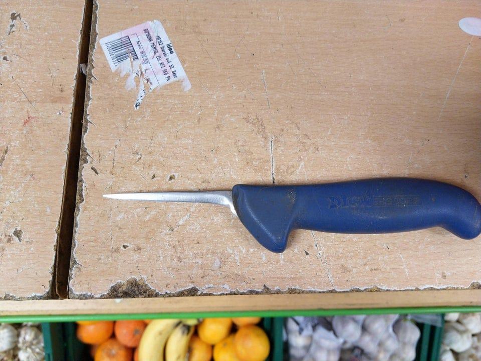 marque du temps visible objets courants couteau