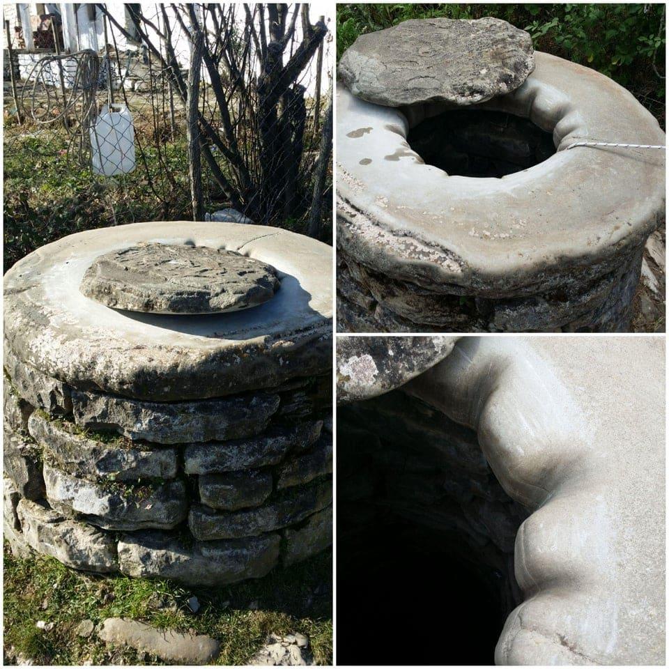 marque du temps visible objets courants bords puits