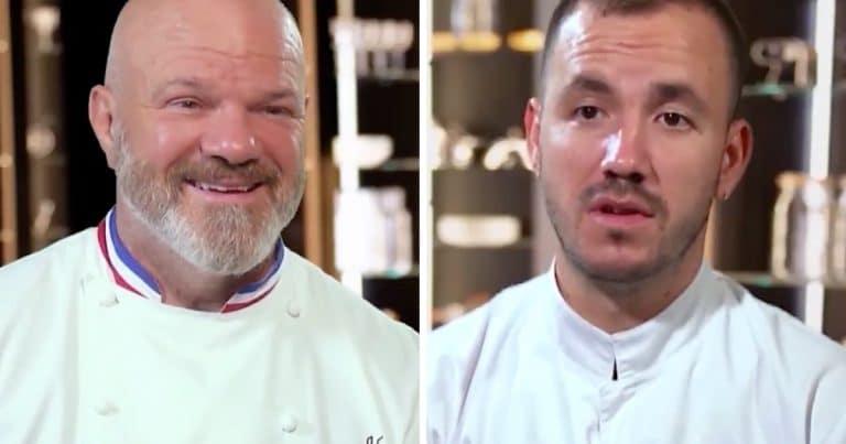Philippe Etchebest et Baptiste dans la nouvelle saison de Top Chef