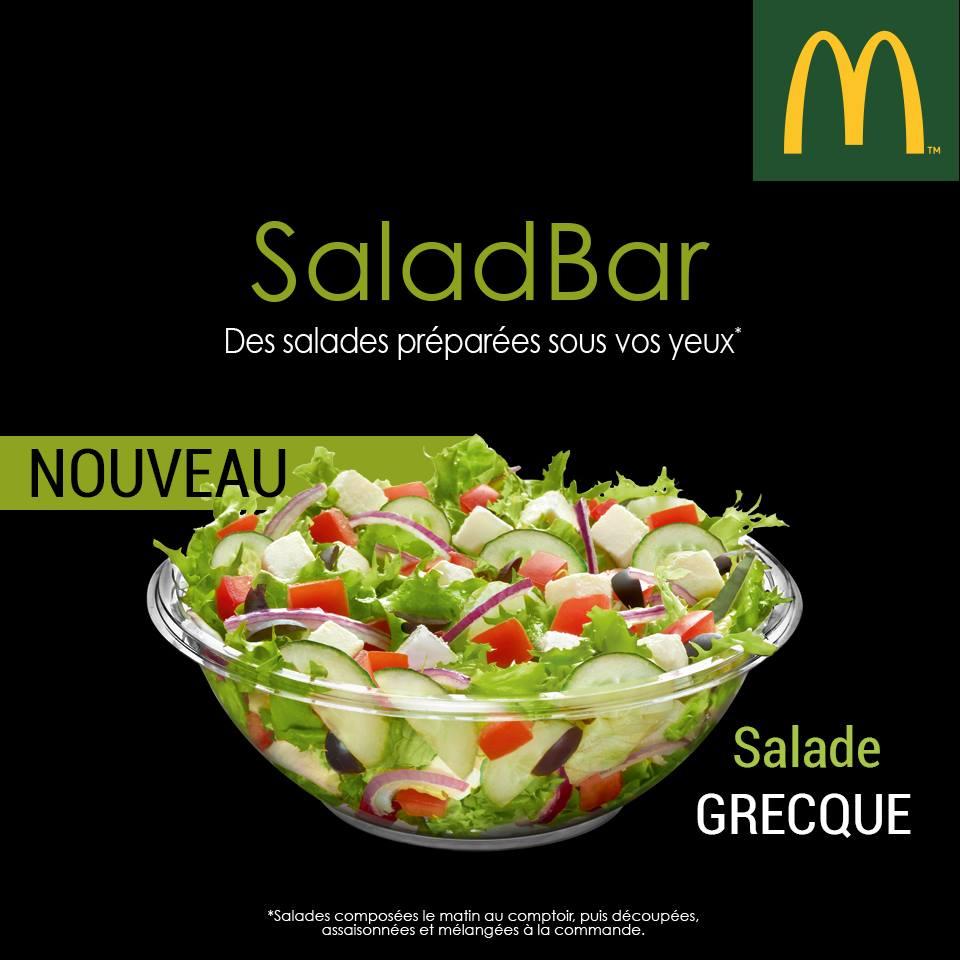 salade mcdonal'ds
