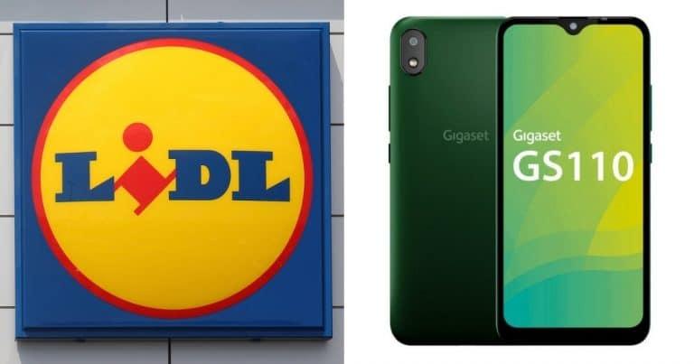 Le smartphone Gigaset de Lidl