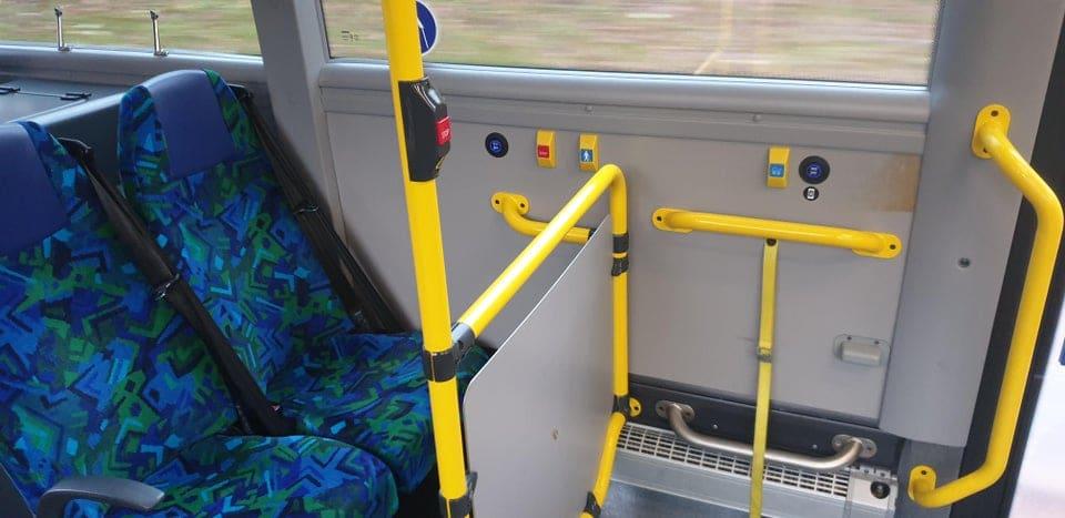Les sièges de bus en Suède