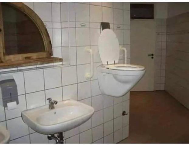 Toilettes en suspension