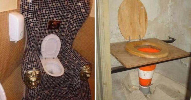 Des toilettes insolites