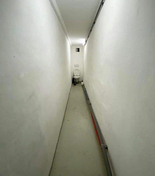 WC dans couloir