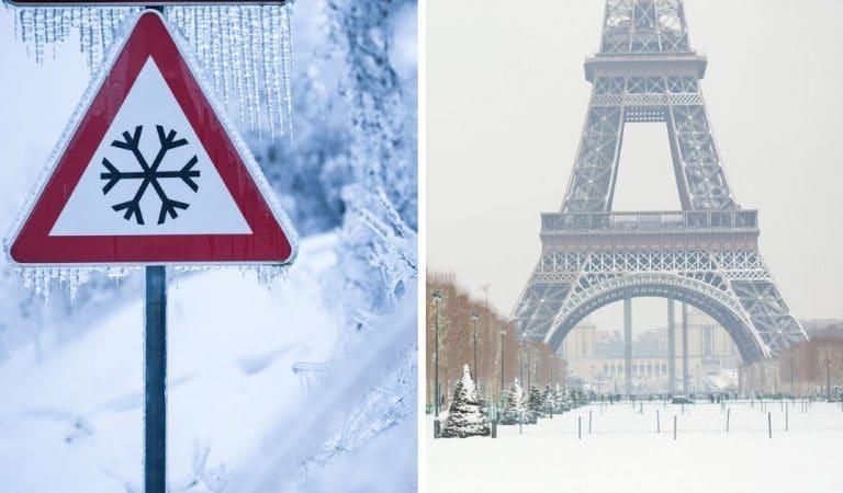 Ressenti de -20°C, neige en plaine… Ce que nous réserve la vague de froid de cette semaine en France