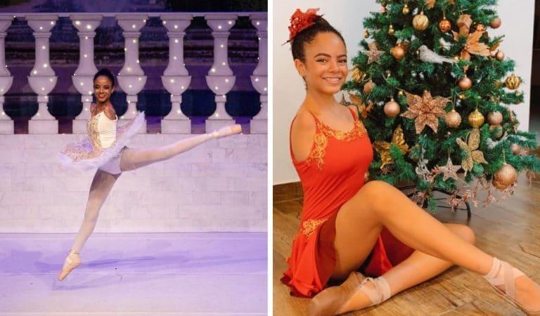 Née sans bras, Vitória Bueno devient danseuse étoile de son école et un modèle pour tous !