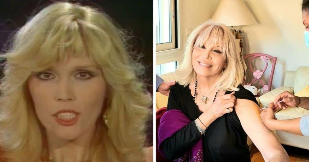 Amanda Lear avant et après la chirurgie esthétique