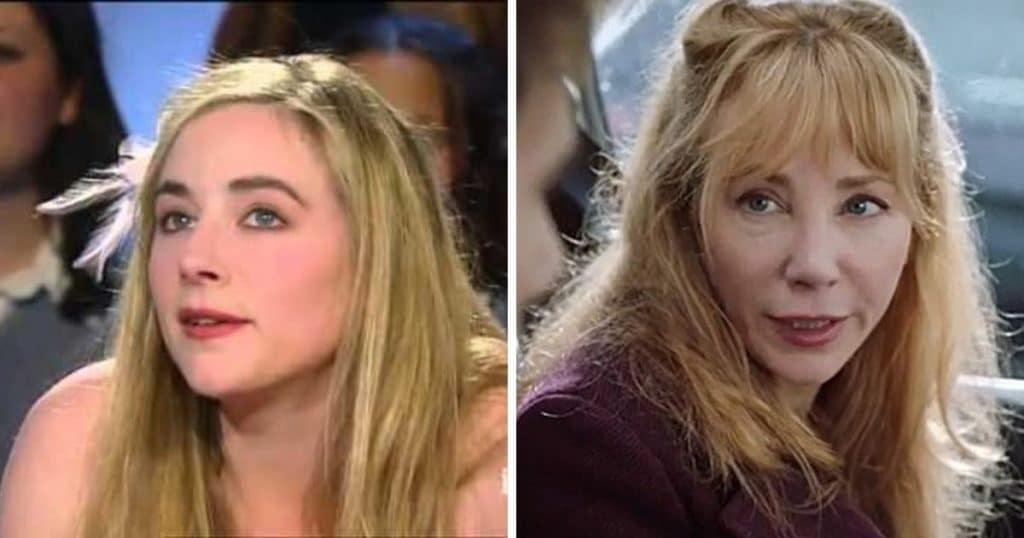Julie Depardieu avant et après la chirurgie esthétique
