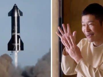 Yusaku Maezawa offre 8 places pour voyager autour de la lune.