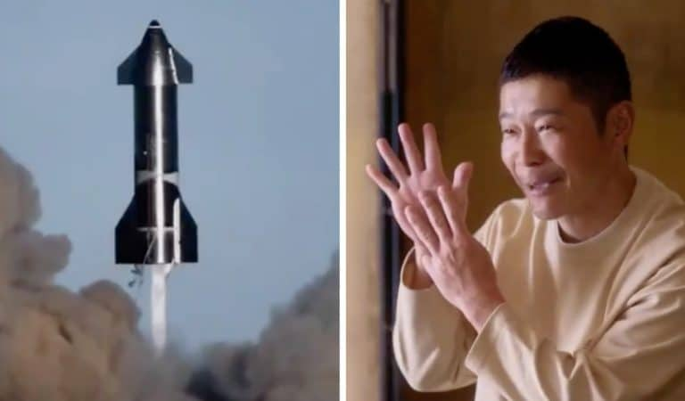Un milliardaire japonais recherche 8 passagers pour voyager dans l'espace : peut-être vous ?