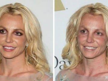 Britney Spears sans maquillage