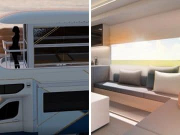 Le camping car de luxe Maxus Life Home V90 Villa Edition de Saic Motor