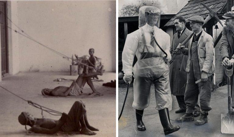 20 photos anciennes qui montrent à quel point le travail était difficile dans le passé
