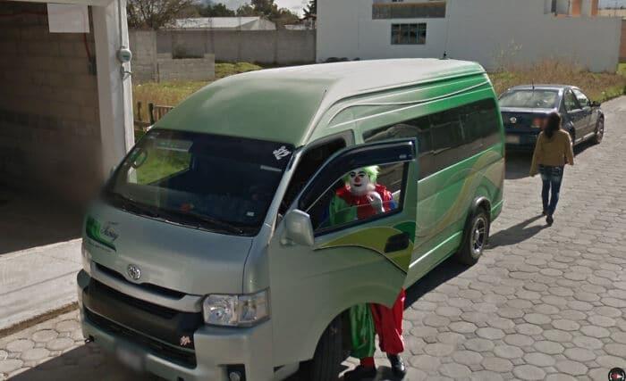 Une scène insolite sur Google Street View