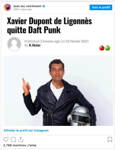 La blague de Jean-Luc Reichmann sur Xavier Dupont de Ligonnès.
