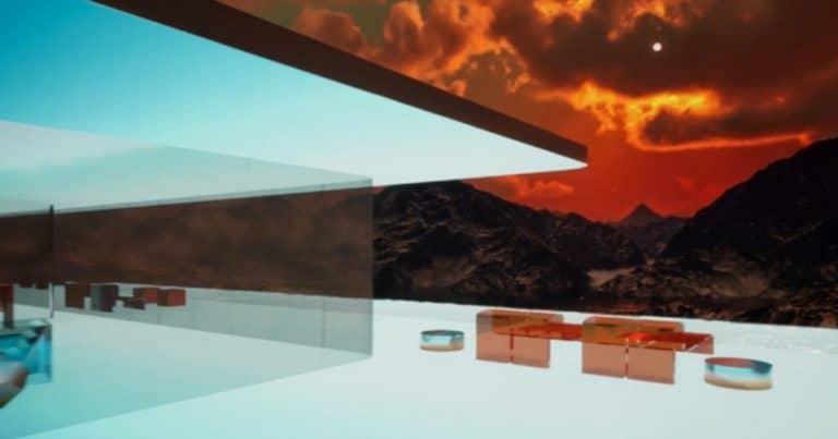 La Mars House de Krista Kim