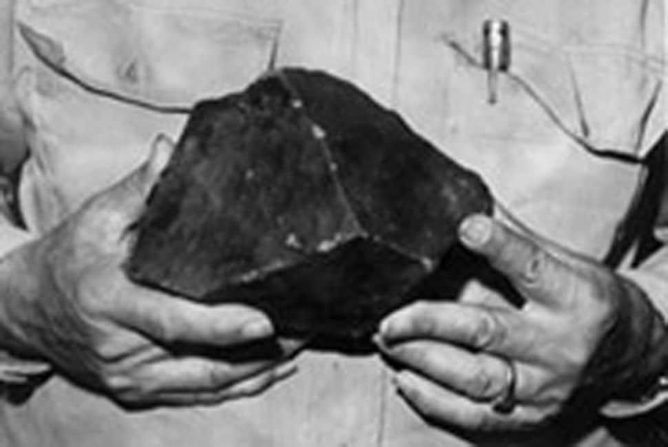 La météorite d'Elizabeth Ann Hodges