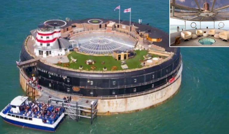 Un fort militaire transformé en demeure luxueuse de 23 chambres est à vendre pour 5 millions d'euros