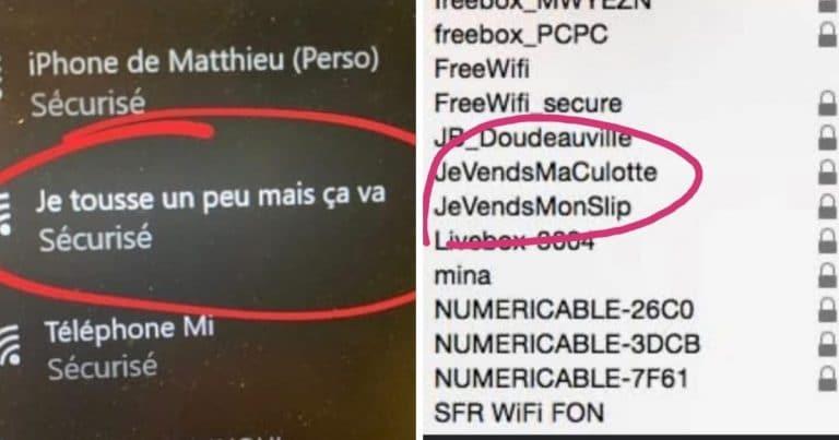 Des noms de wifi marrants