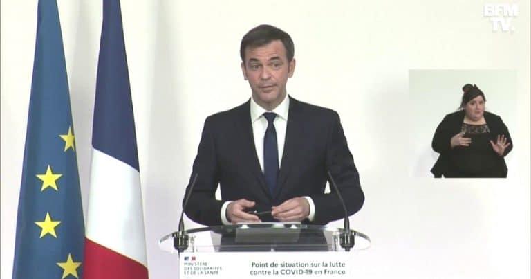 Olivier Véran ce jeudi 25 mars.