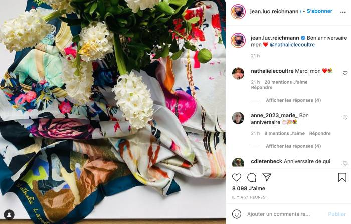 Post Instagram de Jean-Luc Reichmann