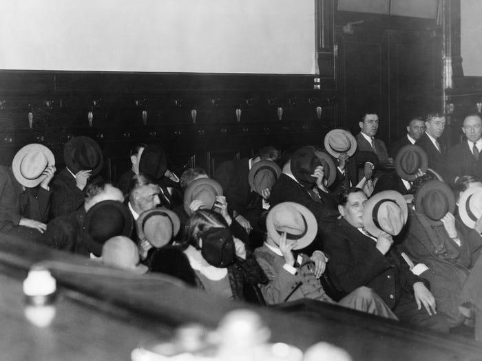 Le procès d'Al Capone en 1931