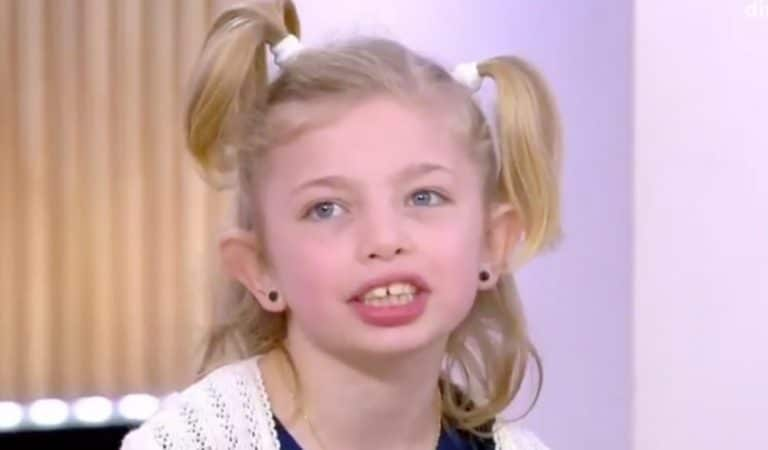 Stella, transgenre à 8 ans, livre un témoignage émouvant dans «C à vous»