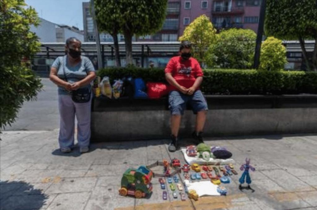 Une famille pauvre au Mexique