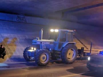 Le conducteur du tracteur est interpellé dans la Nièvre