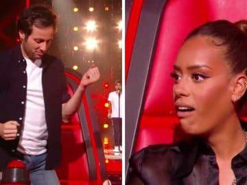 Vianney et Amel Bent dans The Voice