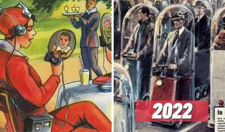 19 fois où les gens du passé ont imaginé le futur (et ne se sont souvent pas trompés !)
