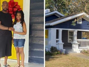 La maison d'Avee-Ashanti Shabazz pour sa fille.