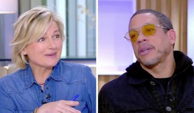 Echanges tendus entre JoeyStarr et Anne-Elisabeth Lemoine dans C à vous : le rappeur rembarre la présentatrice