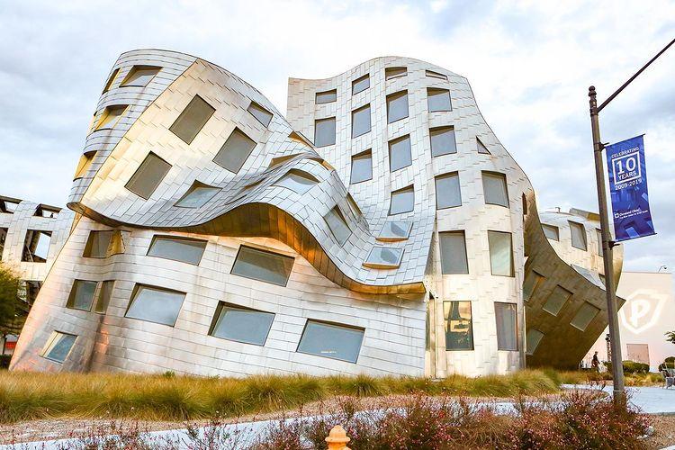 Une architecture insolite