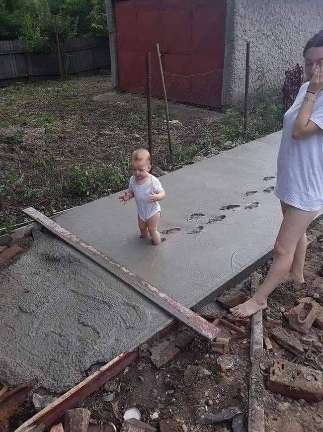 Une bêtise d'enfant
