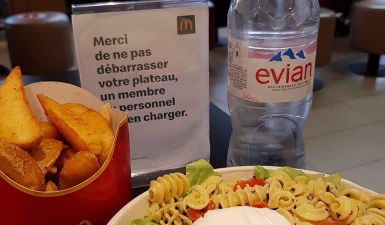 Mc Donald's supprime les bouteilles d'eau en plastique pour une solution plus respectueuse de l'environnement