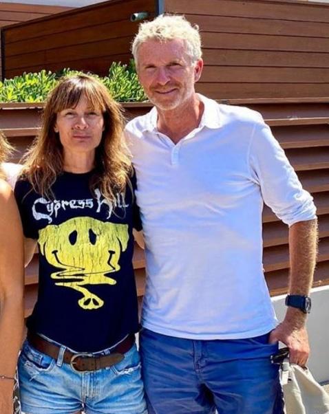 Hortense et Denis Brogniart