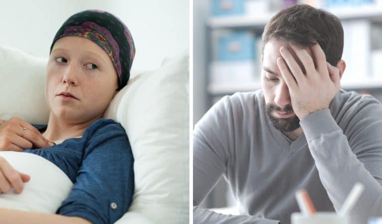 Epuisé par la maladie de sa femme, il l'abandonne à l'hôpital et se justifie