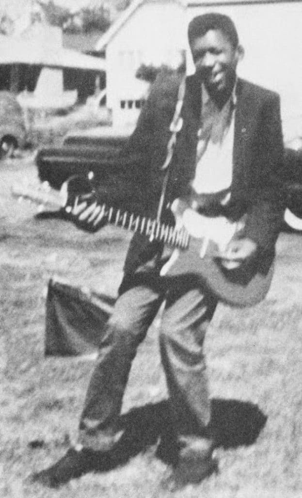 Photo insolite du passé de Jimmy Hendrix