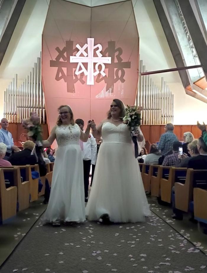Mariage de Lacey et Cindy