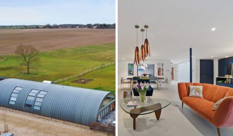 Un hangar de 1916 rénové en luxueuse propriété vaut désormais près d'1,7 million d'euros !